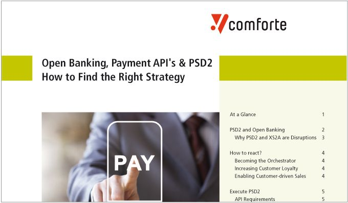 Whitepaper: Open Banking, Payment API's & PSD2: How to Find the Right Strategy