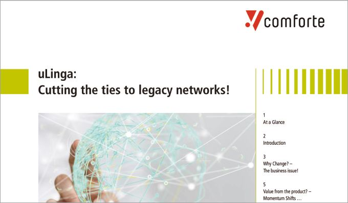 White Paper: uLinga - Cutting the Ties to Legacy Networks!
