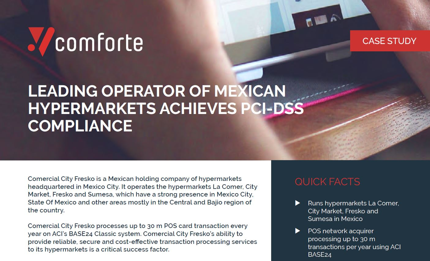 Success Story: City Fresko achieves PCI-DSS compliance with tokenization