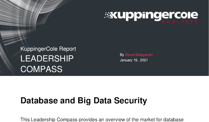 Report: Leadership Compass Database and Big Data Security