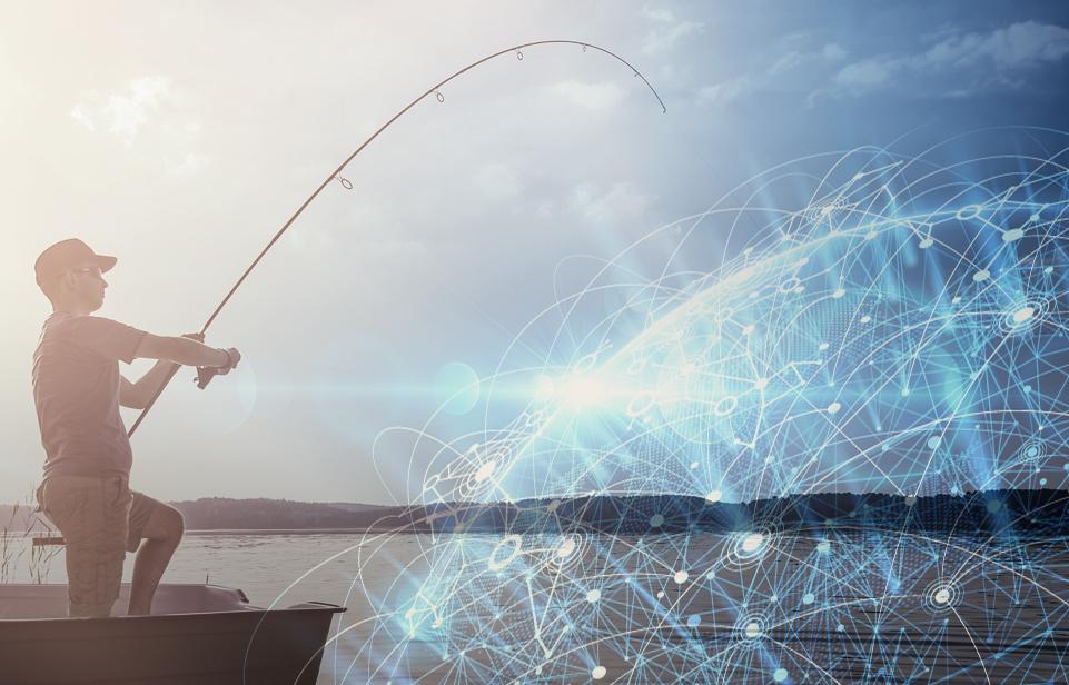Don't let others fish in your data lake!