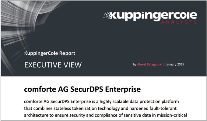 Executive View of SecurDPS by KuppingerCole