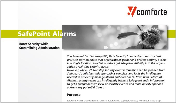 SafePoint Alarms