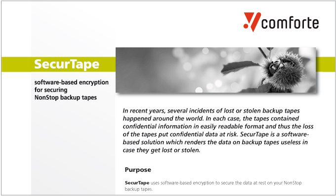 Fact sheet: SecurTape