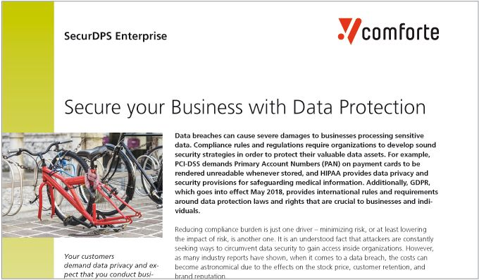 Secure your Business with Data Protection