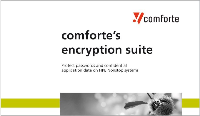 Encryption Suite - protecting passwords and data on HPE NonStop